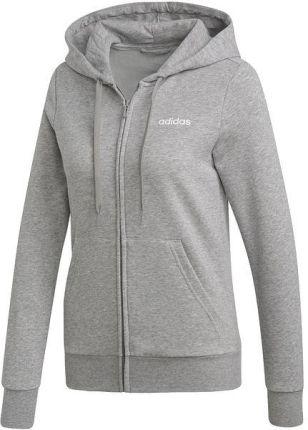91730744e Bluza z kapturem damska Essentials PLN Full Zip Adidas (szara)