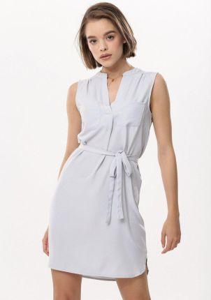 6311dec3b7 Podobne produkty do Wow Point Białą Wizytowa Trapezowa Sukienka Koronkowa z  Dzwonkowym Rękawem