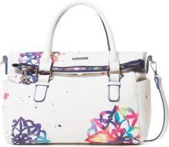 4f670602c17cb Desigual Water Mandala Lover Handbag Biały UNI
