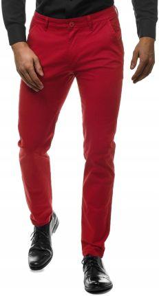 d56b9a2f11514 Hugo Boss Orange Schino-Slim1-D Spodnie Czerwony 31/34 - Ceny i ...