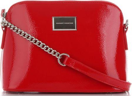 b99e36a5c0baa Włoskie Ekskluzywne Torebki Damskie Eleganckie Listonoszki renomowanej  marki Diana Co Czerwone (kolory) ...