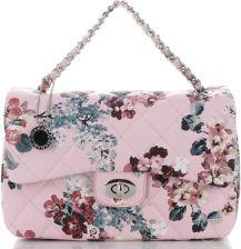 f8a4828801ff7 Stylowe Pikowane Torebki Damskie Modne Listonoszki w motyw kwiatów  renomowanej marki Diana&Co Różowe (kolory) ...