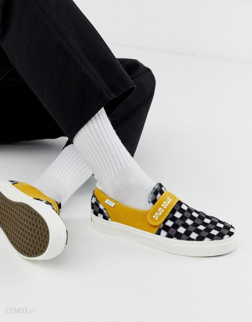 Vans x David Bowie Hunky Dory Slip On plimsolls in yellow Yellow Ceneo.pl