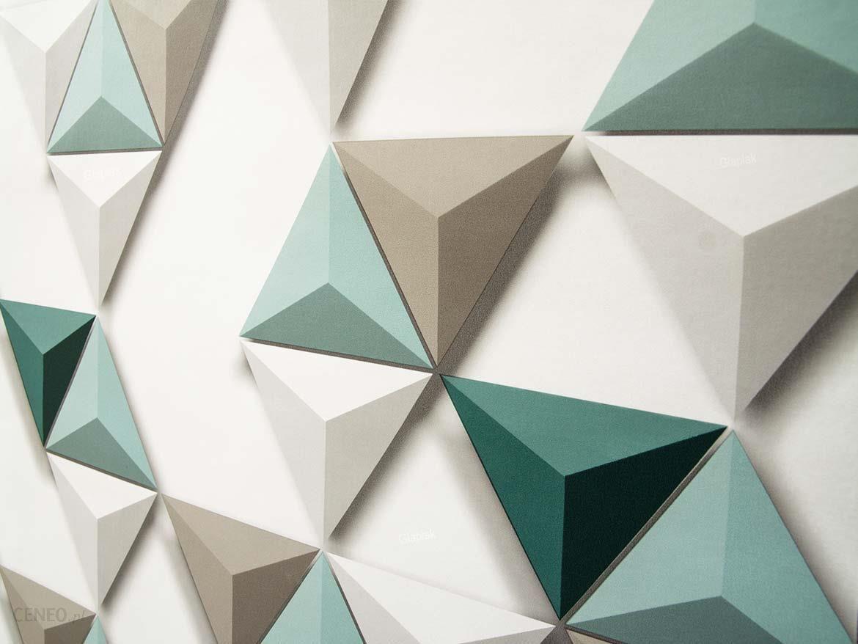 Tapeta 3d Hexagone Trójkąty Wzór Geometryczny Opinie I Ceny Na Ceneopl
