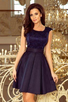 5dc2ce6328 Elegancka wieczorowa Sukienka wesele 244-2 L 40 Allegro