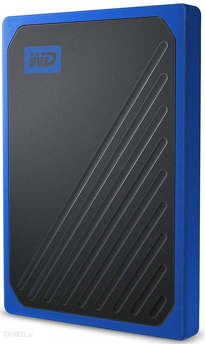 WD My Passport GO 500GB Niebieski (WDBMCG5000ABT-WESN)