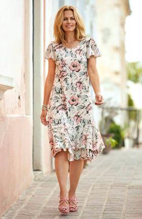 82601c2ea8 Sukienki w kwiaty - modne i stylowe - Ceneo.pl