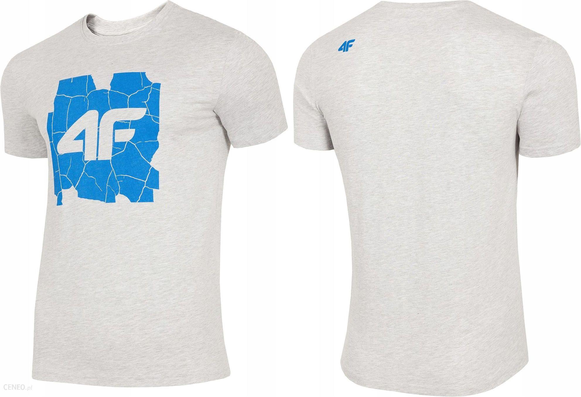 f623280d7 4F Męska Koszulka Bawełniana T-shirt TSM007 XXL - Ceny i opinie ...