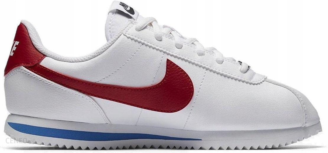 wholesale dealer 2931b 101d1 37,5 Buty Nike Cortez Basic Gs 904764-103 Białe - Ceny i opinie - Ceneo.pl