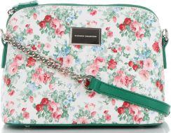 5812759e366cb Modne Torebki Damskie Firmowe Listonoszki w kwiaty marki Diana&Co  Multikolorowe Zielone (kolory) ...