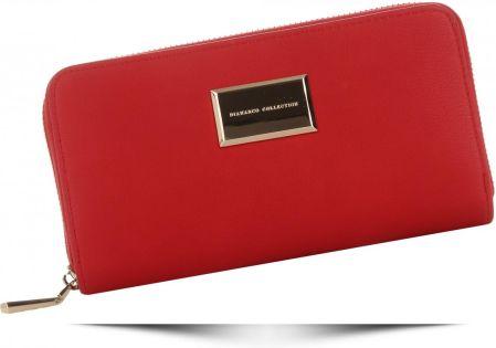 516fdf7af1c9f Włoskie Uniwersalne Portfele Damskie XL renomowanej marki Diana Co Czerwone  (kolory) ...