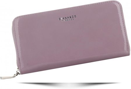 42675e0b2accd Włoskie Lakierowane Portfele Damskie w rozmiarze XL renomowanej marki  Diana Co Wrzosowe (kolory) ...