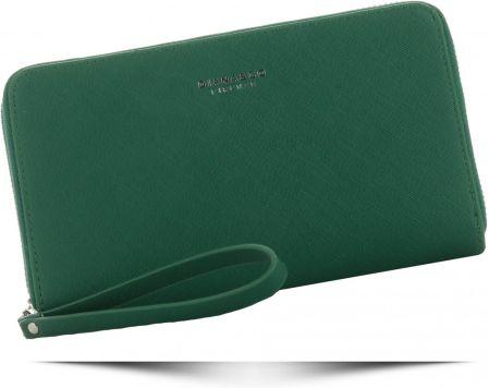c66ab5760d43c Uniwersalny Portfel Damskie z paskiem renomowanej marki Diana Co Zielony  (kolory) ...