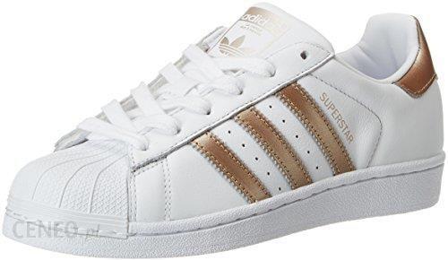 Adidas Superstar Damskie Buty Sportowe BiałyZłoto