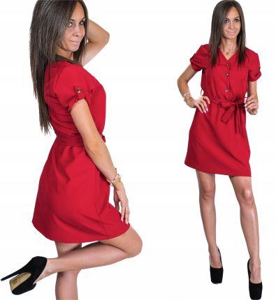 88b75d4ced Czerwona sukienka rozkloszowana Moda - Ceneo.pl strona 4