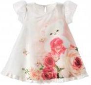 08ef1d7034 Dirkje sukienka dziewczęca w kwiaty 98 wielokolorowa - Ceny i opinie ...