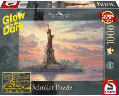 b655d667b266d2 Schmidt Thomas Kinkade Statua Wolności Nowy Jork Świecące W Ciemności 1000El .