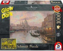 6bb775ad0a4915 Schmidt Thomas Kinkade Ulice Wenecji Świecące W Ciemności 1000El.