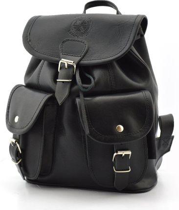 cca3299ed100a Podobne produkty do Blu Byblos plecak damski brązowy. Klasyczny plecak  Podhale Regionals b900 deepblack - Skóra juchtowa premium \ deepblack