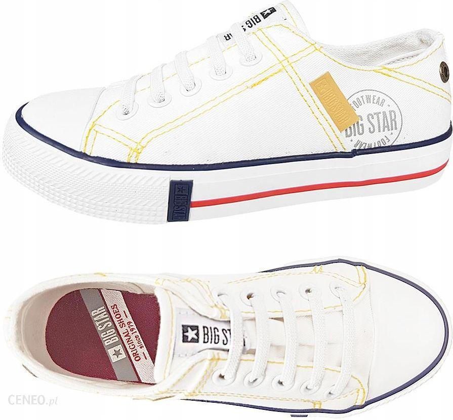 Trampki dziecięce Big Star białe buty DD374130 34 Ceny i opinie Ceneo.pl