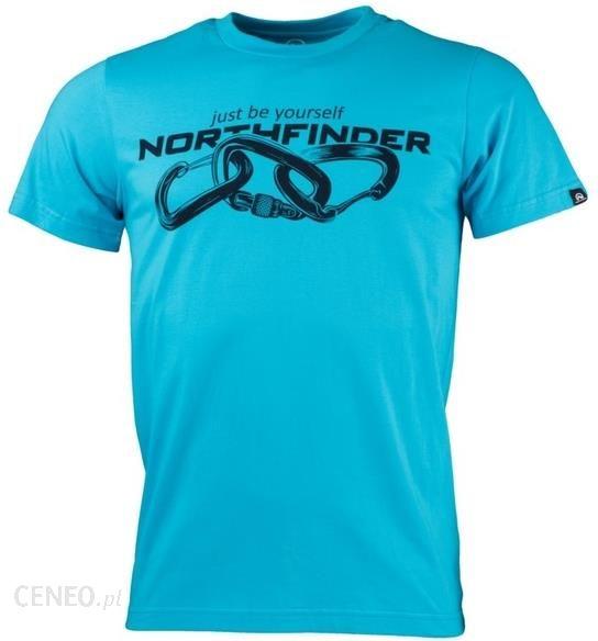 1450617c5c9b81 Northfinder Męska koszulka Belo Blue TR-3392OR (rozmiar M) - Ceny i ...