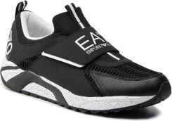 cb7e4a6b116f Sneakersy EA7 EMPORIO ARMANI - X8X035 XK062 D611 Black White eobuwie. Buty  sportowe męskie ...