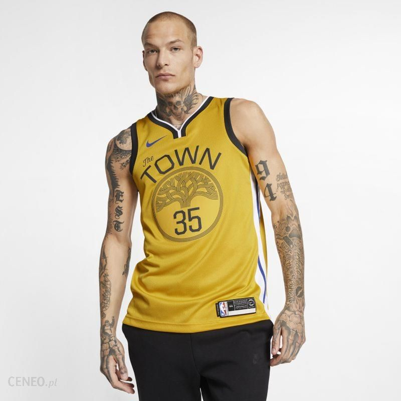timeless design 47645 343fc Nike Męska koszulka Nike NBA Connected Jersey Kevin Durant Earned City  Edition Swingman (Golden State Warriors) - Żółć - Ceny i opinie - Ceneo.pl