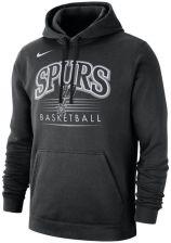 Męska bluza z kapturem NBA San Antonio Spurs Nike Czerń Ceny i opinie Ceneo.pl
