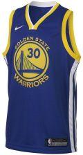 Nike Koszulka NBA dla dużych dzieci Stephen Curry Golden State Warriors Nike Icon Edition Swingman Niebieski