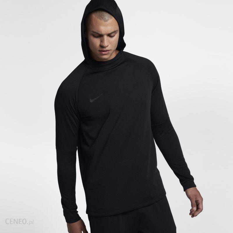 Męska bluza piłkarska z kapturem Nike Dri FIT Academy Czerń Ceny i opinie Ceneo.pl
