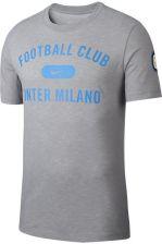 11ee9e160d2d4f Nike T-Shirt Piłkarski Dri Fit Inter Mediolan Szary