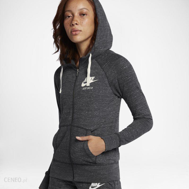 Nike Bluza Z Kapturem Sportswear Gym Vintage Czerń 23550015319 Ceny i opinie Ceneo.pl