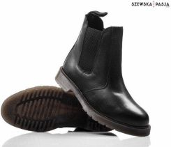 8454b69fb19c1 Klasyczne skórzane sztyblety botki buty męskie