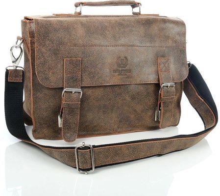 22c9b19181c85 Jasno brązowa elegancka torba skórzana paolo peruzzi
