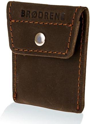97dca2ab5acdc Czarno-czerwony Skórzany portfel męski pionowy A.Wild 034 - Ceny i ...
