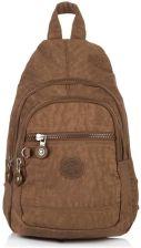 91f9cd536f862 Miejski wygodny lekki plecak na jedno ramię bag street brązowy