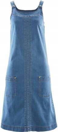 c593f7e986 Sukienka dżinsowa ze stre niebieski 44 XXL 945081 - Ceny i opinie ...