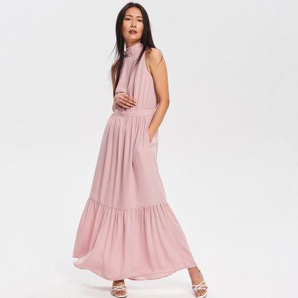 47f4e8d62e Różowe Sukienki Maxi wiosna 2019 - Ceneo.pl