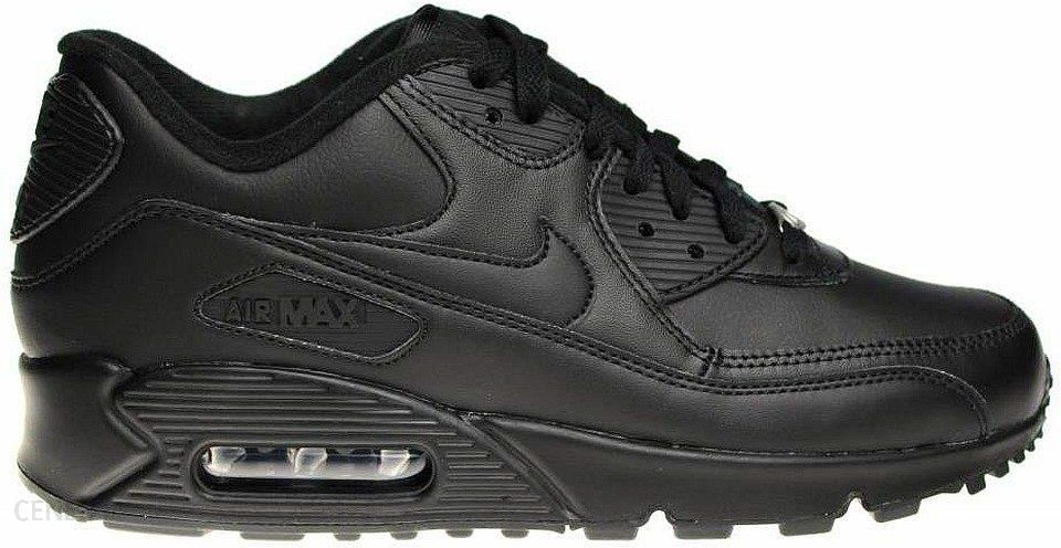 Buty Nike Air Max 90 Leather All Black (302519 001) Ceny i