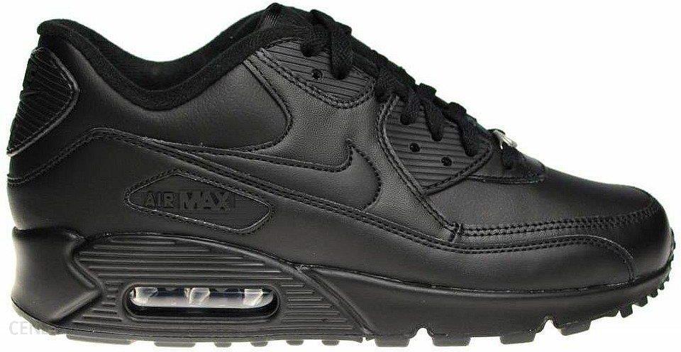 Buty NIKE Air Max 90 Leather 302519 001 BlackBlack Ceny