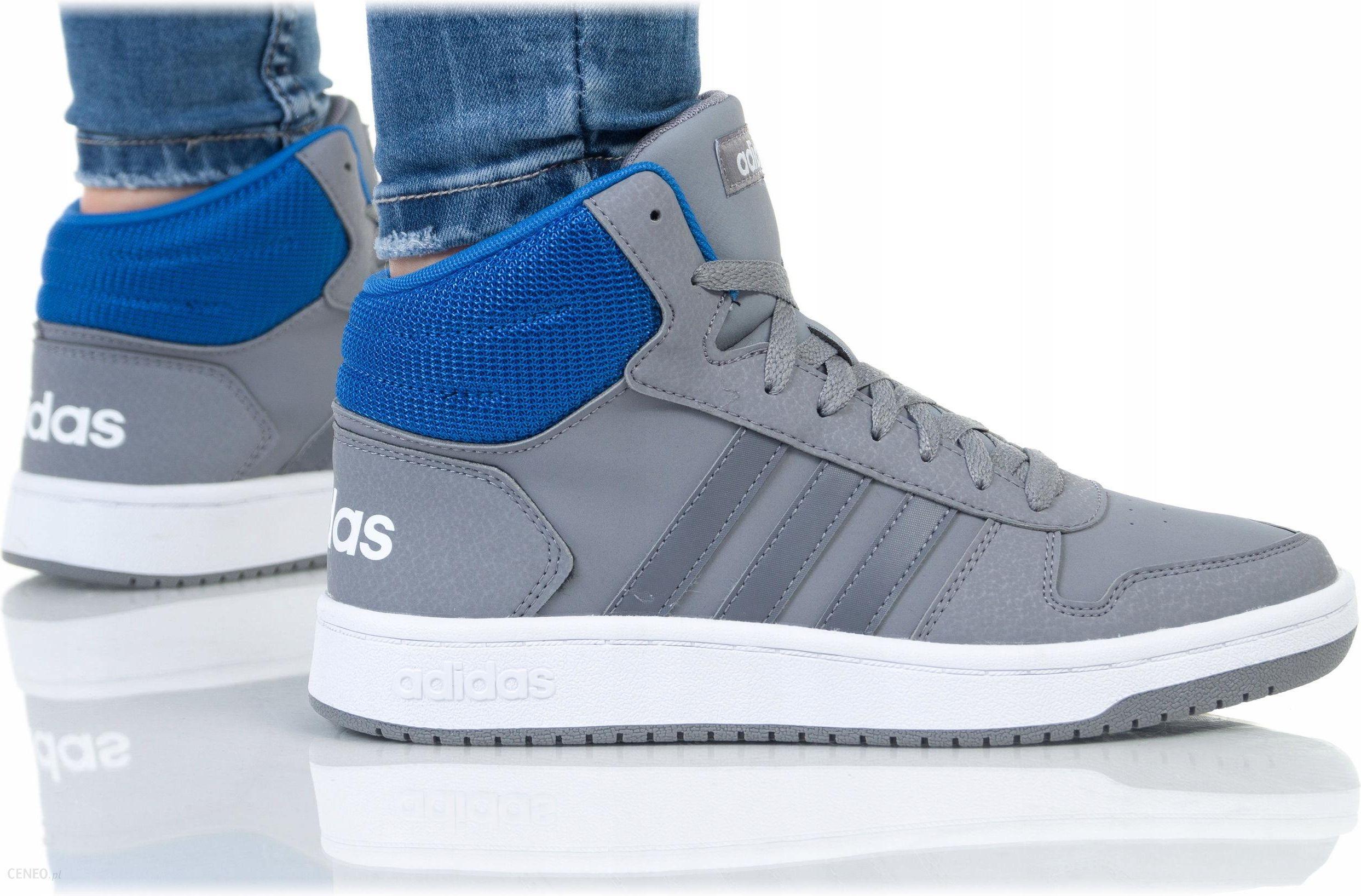 Buty Adidas Damskie Hoops MID 2.0 K F35100 Szare Ceny i opinie Ceneo.pl