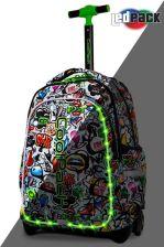 c162a30bc1fe7 Patio Coolpack Led Graffiti Plecak Świecący Na Kółkach Junior