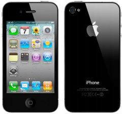 Telefony z outletu Produkt z Outletu: Apple iPhone 4 black - zdjęcie 1