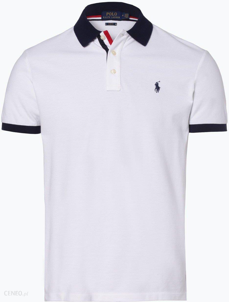 b5502b210 Polo Ralph Lauren Męska koszulka polo Slim fit czarny - zdjęcie 1