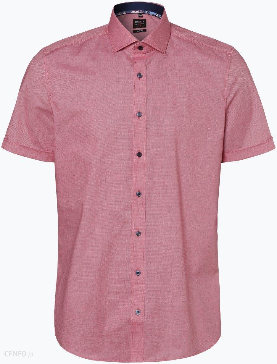Olymp Level Five Koszula męska łatwa w prasowaniu czerwony  EdQ7Y