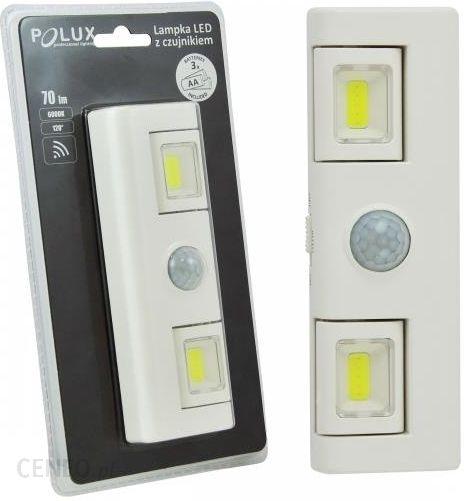 Lampa Podszafkowa Led Z Czujnikiem Ruchu Na Baterie Polux 311108