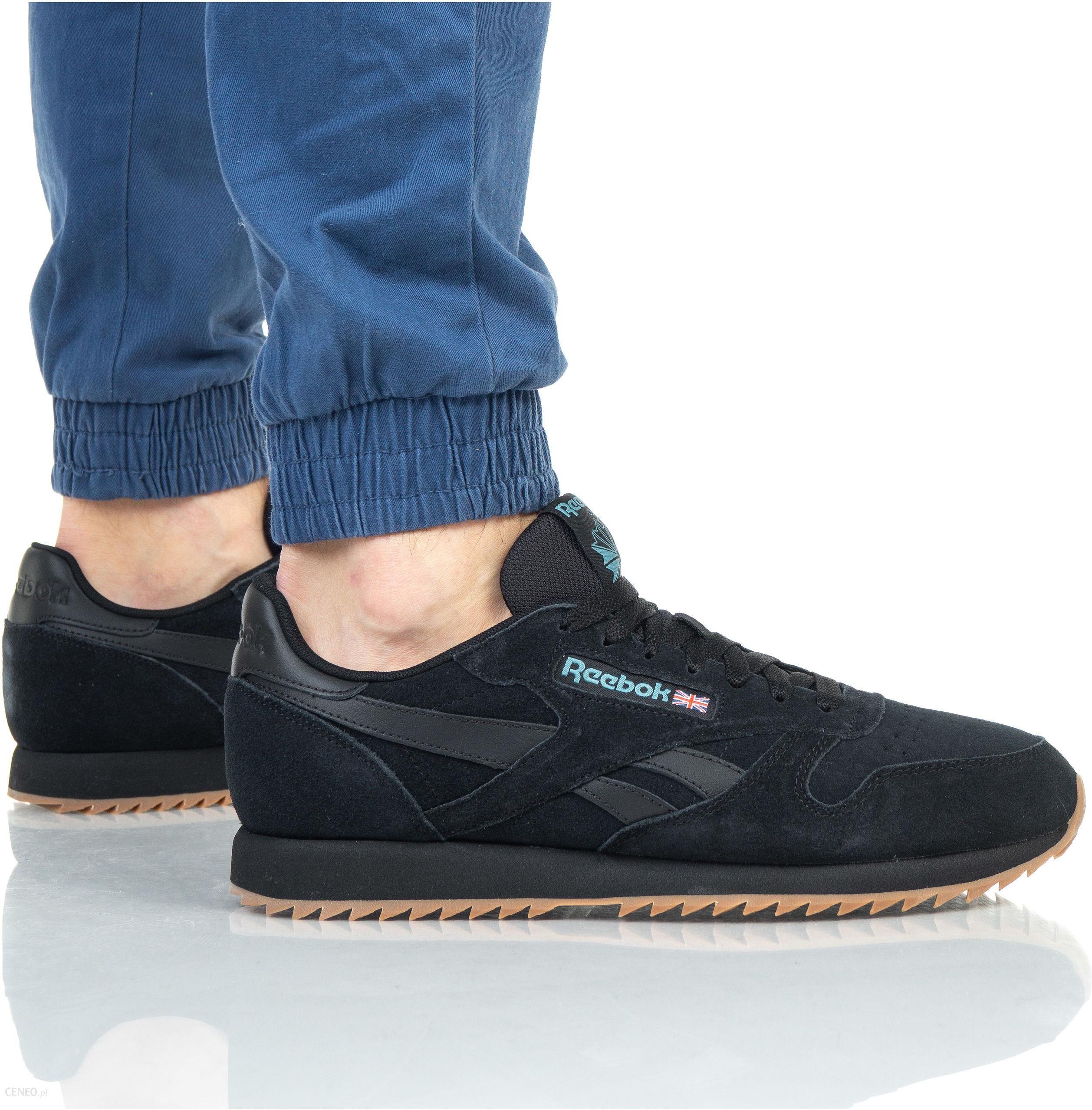 buty sneakers Reebok Classic Leather MU DV3933, męskie, Czarne