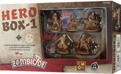 Portal Games Zombicide: Czarna plaga - Hero Box-1 dodatek do gry