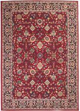 Vidaxl Orientalny Dywan Perski Wzór 140x200 Cm Czerwono Beżowy