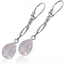 0f36d27465cf42 Makrolux Długie Z Kryształami Swarovski W Kolorze Rose Water Opal  (4320Rwo1430K)